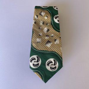 corbata verde