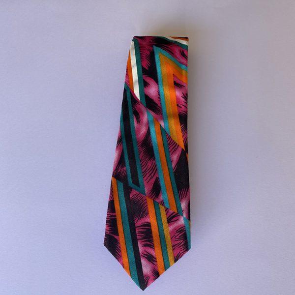 corbata animal print